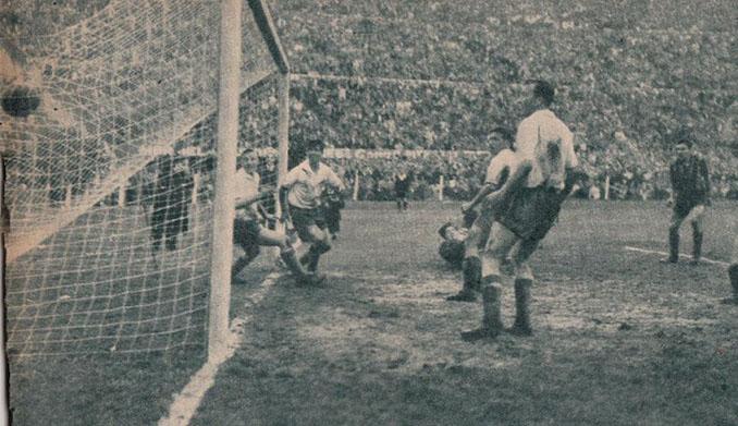 Gol de Ghiggia en El Clásico de la fuga - Odio Eterno Al Fútbol Moderno