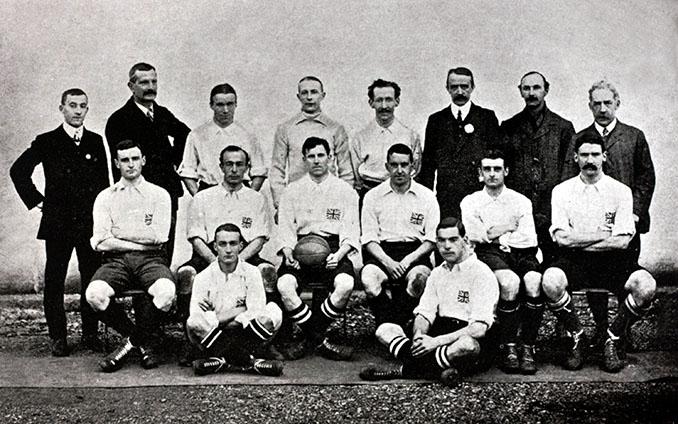 Selección de Inglaterra en 1908 - Odio Eterno Al Fútbol Moderno