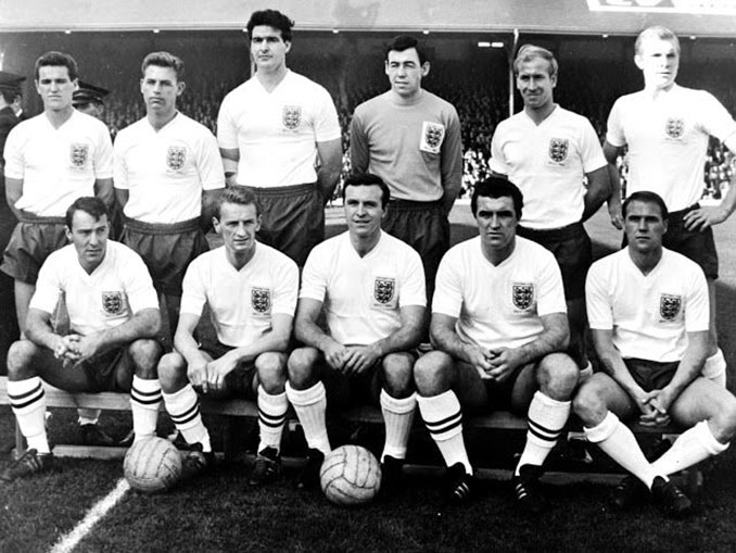 Selección de Inglaterra en 1963 - Odio Eterno Al Fútbol Moderno