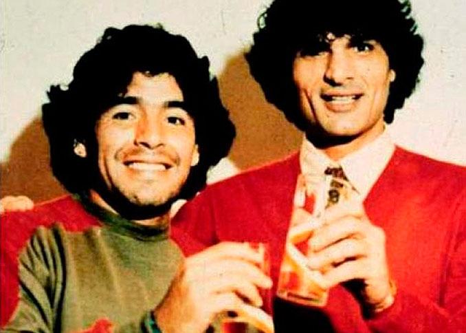 Maradona con Carmine Giuliano - Odio Eterno Al Fútbol Moderno
