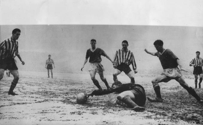 El partido de la nieve - Odio Eterno Al Fútbol Moderno