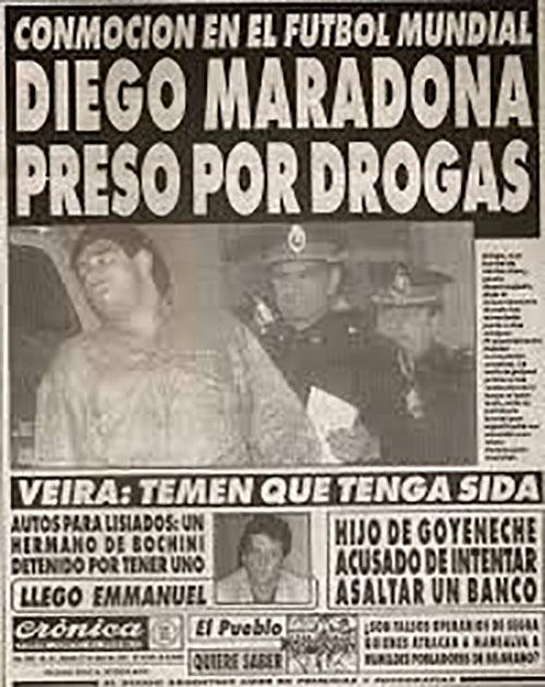 Para bien o para mal la vida de Maradona siempre ha estado en primera plana - Odio Eterno Al Fútbol Moderno