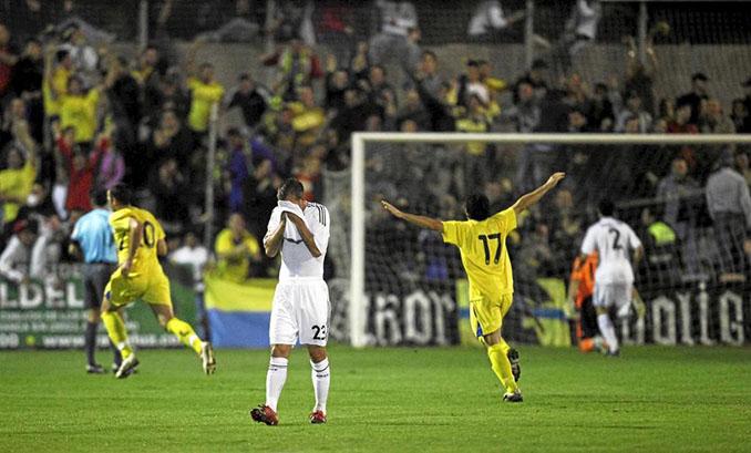 """En 2009 el Real Madrid sufrió el conocido """"Alcorconazo"""" - Odio Eterno Al Fútbol Moderno"""