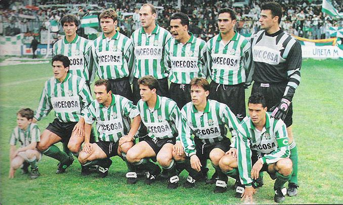 Real Betis en la temporada 1993-1994 - Odio Eterno Al Fútbol Moderno