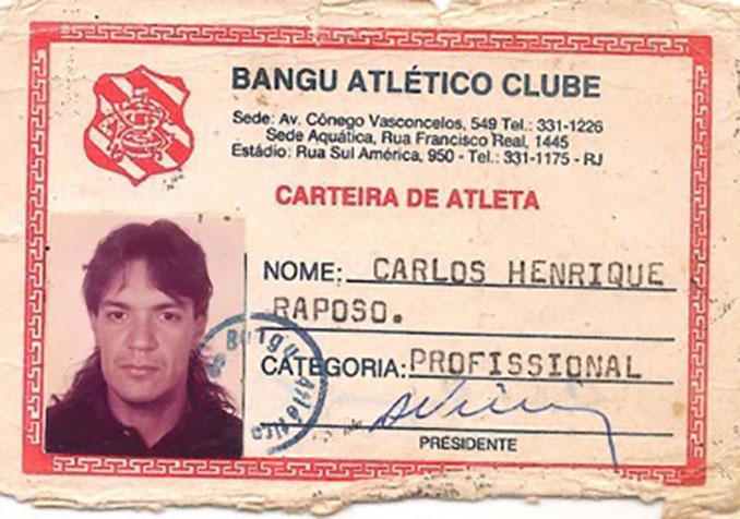 Ficha de Carlos Henrique Raposo en el Bangu Atlético Clube - Odio Eterno Al Fútbol Moderno