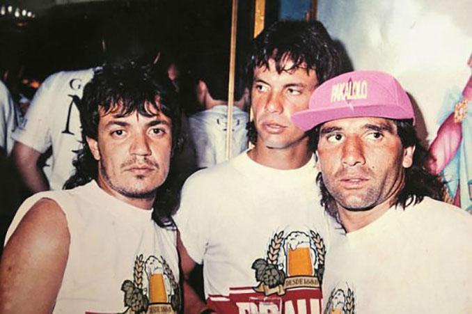 Carlos Henrique Raposo junto a Renato Gaúcho - Odio Eterno Al Fútbol Moderno