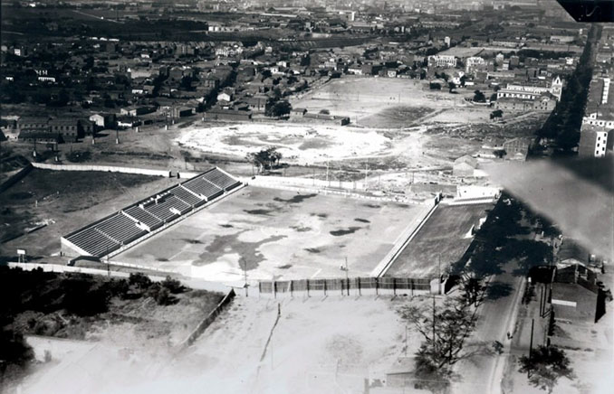 Antiguo Estadio de Vallecas en 1930 - Odio Eterno Al Fútbol Moderno