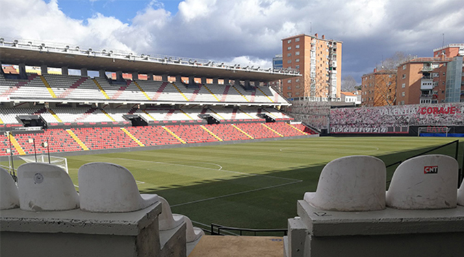 Estadio de Vallecas - Odio Eterno Al Fútbol Moderno