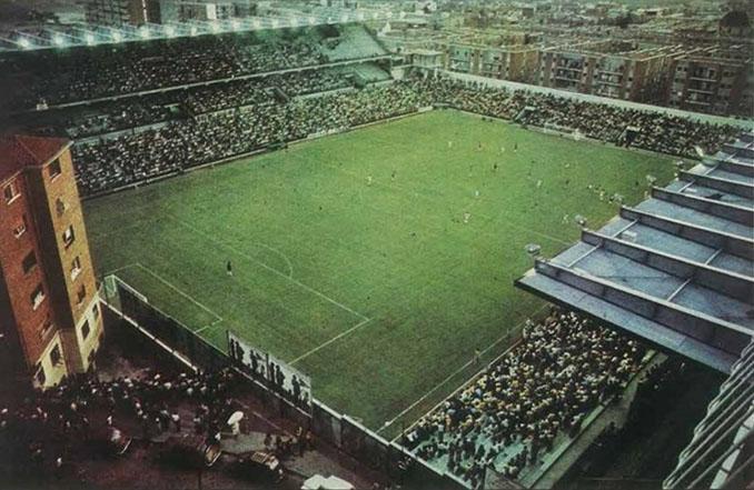 Inauguración del Estadio de Vallecas el 6 de junio de1976 - Odio Eterno Al Fútbol Moderno