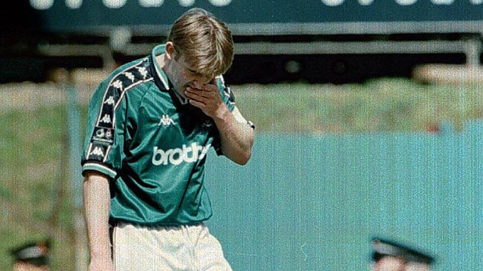 Jamie Pollock tras marcar el mejor gol en propia puerta de la historia - Odio Eterno Al Fútbol Moderno