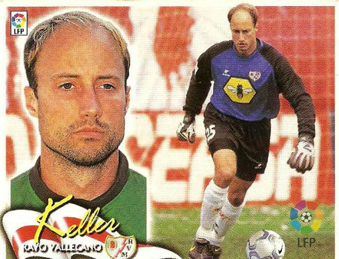 Cromo de Kasey Keller - Odio Eterno Al Fútbol Moderno
