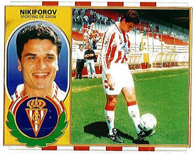 Cromo de Yuri Nikiforov - Odio Eterno Al Fútbol Moderno