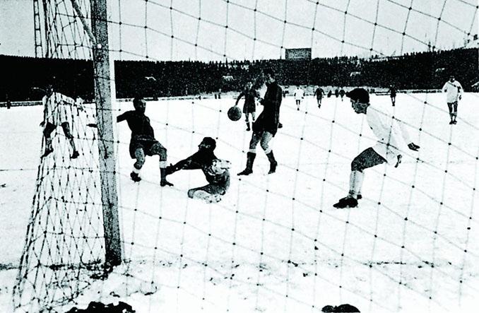 Partizan vs Real Madrid disputado en los cuartos de final de la primera edición de la Copa de Europa - Odio Eterno Al Fútbol Moderno