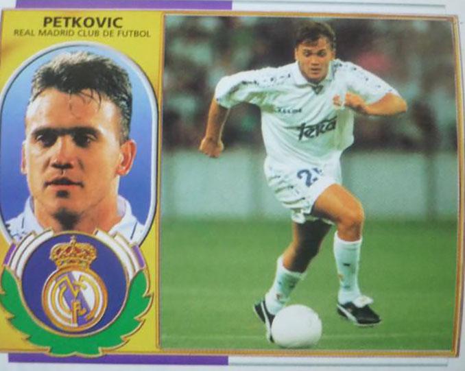 Cromo de Dejan Petkovic - Odio Eterno Al Fútbol Moderno