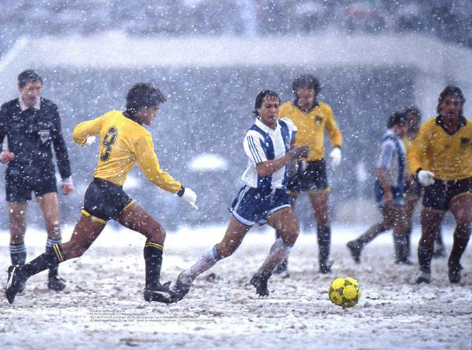 El gol de Rabah Madjer dio al Oporto su primera Copa Intercontinental en 1987 - Odio Eterno Al Fútbol Moderno