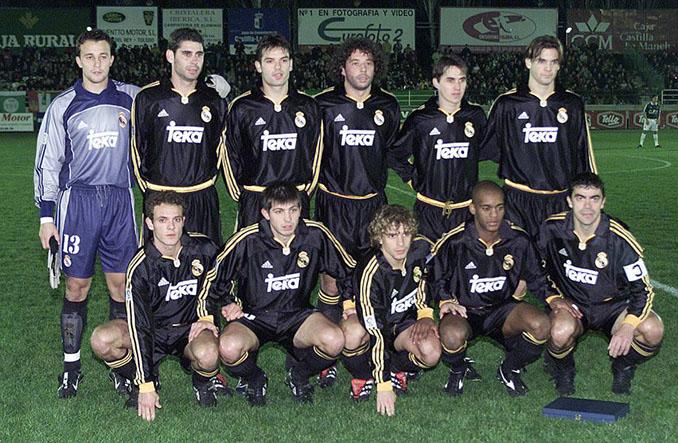 Once inicial del Real Madrid ante el Toledo en 2000 - Odio Eterno Al Fútbol Moderno