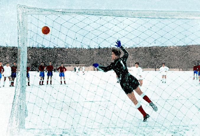 Rial falló un penalti en el Partizan vs Real Madrid de 1956 - Odio Eterno Al Fútbol Moderno
