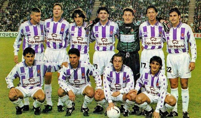 Real Valladolid en la temporada 1996-1997 - Odio Eterno Al Fútbol Moderno