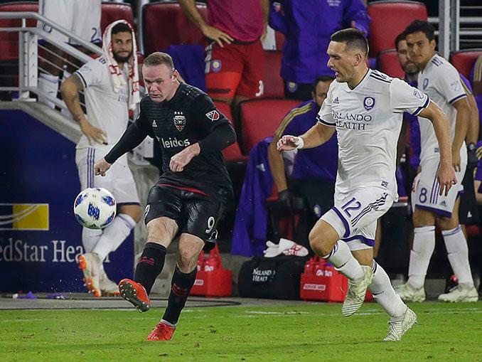 Wayne Rooney con la camiseta del DC United - Odio Eterno Al Fútbol Moderno