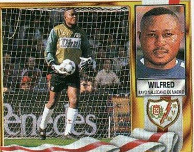Cromo de Wilfred Agbonavbare - Odio Eterno Al Fútbol Moderno