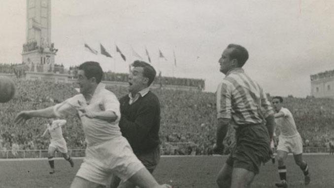 Atlético de Madrid vs Valencia CF dispuado en 1948 - Odio Eterno Al Fútbol Moderno