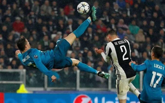 La espectacular chilena de Cristiano Ronaldo ante la Juventus - Odio Eterno Al Fútbol Moderno