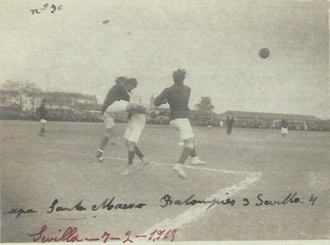 Derbi sevillano disputado en 1915 - Odio Eterno Al Fútbol Moderno