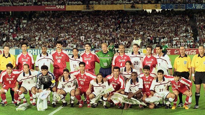 Estados Unidos vs Irán del Mundial '98, el partido de la paz - Odio Eterno Al Fútbol Moderno