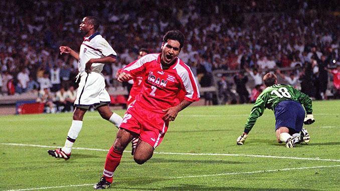 Mehdi Mahdavikia logró el gol e la victoria de Irán ante Estados Unidos en 1998 - Odio Eterno Al Fútbol Moderno