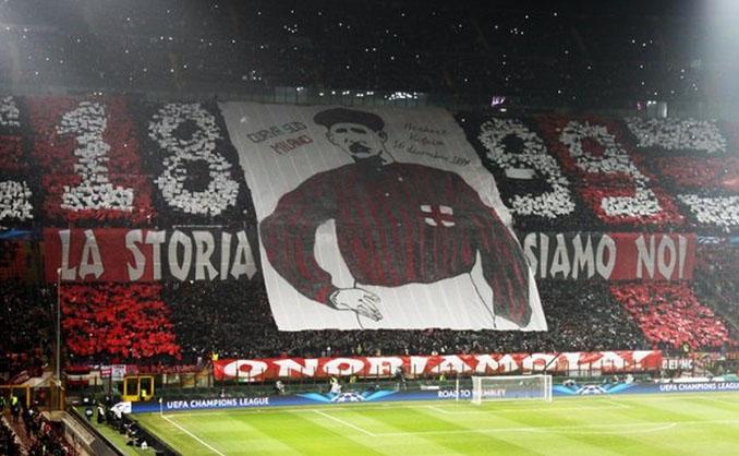 Homenaje a Herbert Kilpin en San Siro - Odio Eterno Al Fútbol Moderno