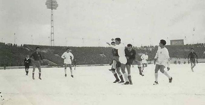 Partizan vs Real Madrid disputado el 29 de enero de 1956 - Odio Eterno Al Fútbol Moderno