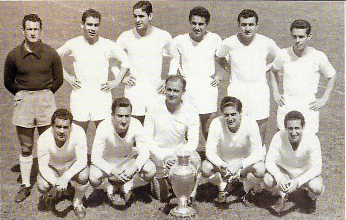 Real Madrid campeón de la primera edición de la Copa de Europa en 1956 - Odio Eterno Al Fútbol Moderno