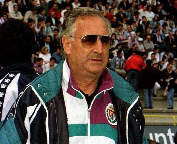 Vicente Cantatore en una de sus etapas al frente del Real Valladolid - Odio Eterno Al Fútbol Moderno