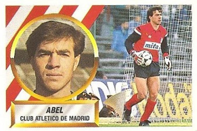 Cromo de Abel Resino - Odio Eterno Al Fútbol Moderno