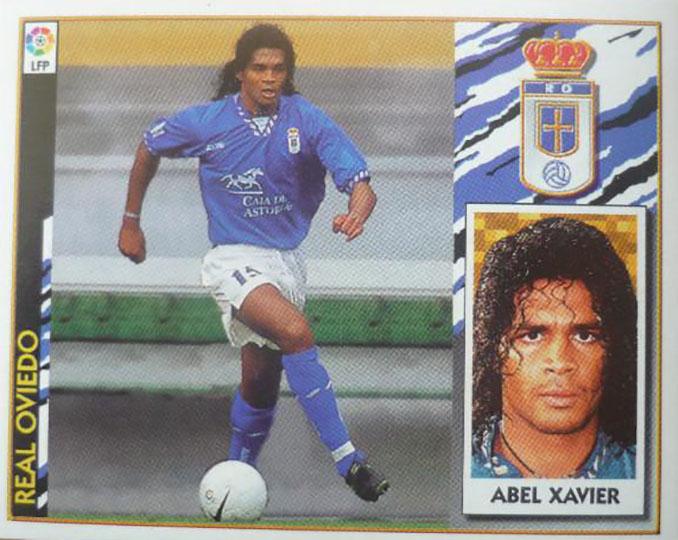 Cromo de Abel Xavier - Odio Eterno Al Fútbol Moderno