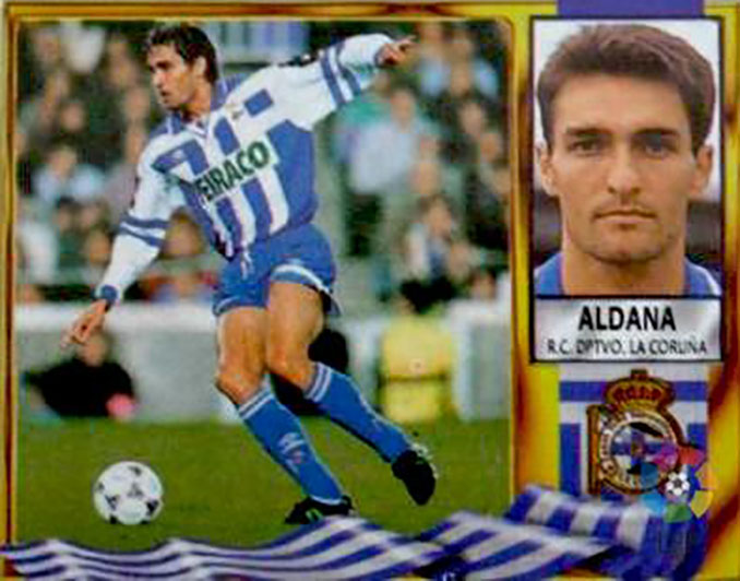 Cromo de Adolfo Aldana - Odio Eterno Al Fútbol Moderno