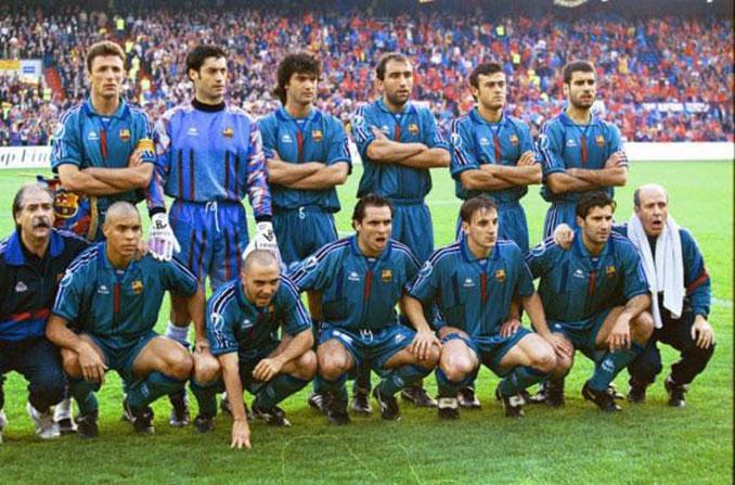 Once del FC Barcelona en la final de la Recopa de 1997 - Odio Eterno Al Fútbol Moderno