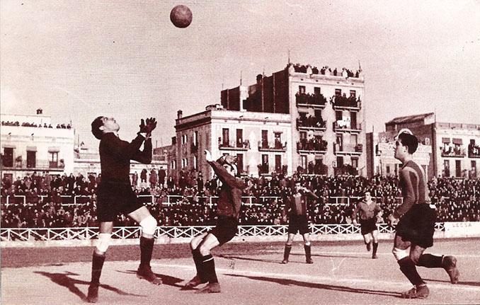 Partido entre CE Júpiter y FC Barcelona en los años 20 - Odio Eterno Al Fútbol Moderno