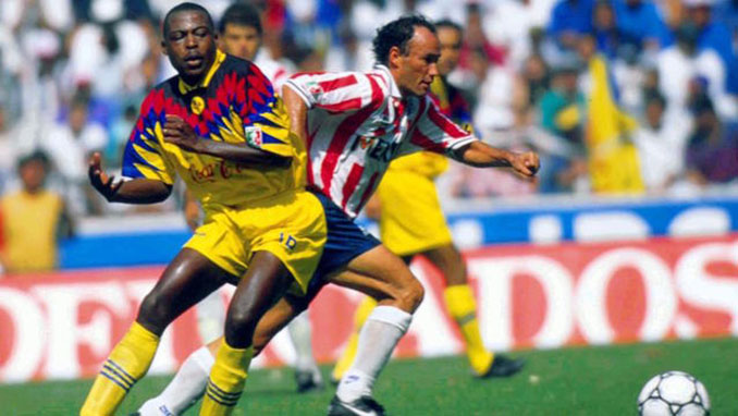 Chivas vs Club América disputado en 1994 - Odio Eterno Al Fútbol Moderno