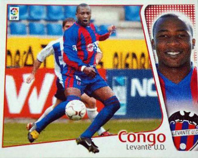 Cromo de Edwin Congo - Odio Eterno Al Fútbol Moderno