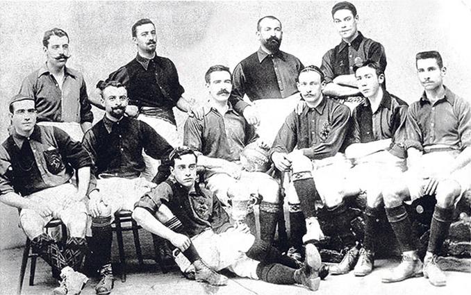 Camiseta del FC Barcelona een 1903 - Odio Eterno Al Fútbol Moderno
