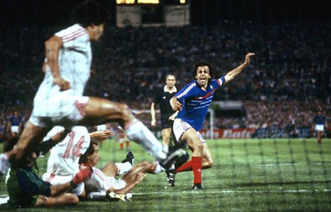 Francia vs Portugal disputado en el Stade Vélodrome en la Eurocopa '84 - Odio Eterno Al Fútbol Moderno