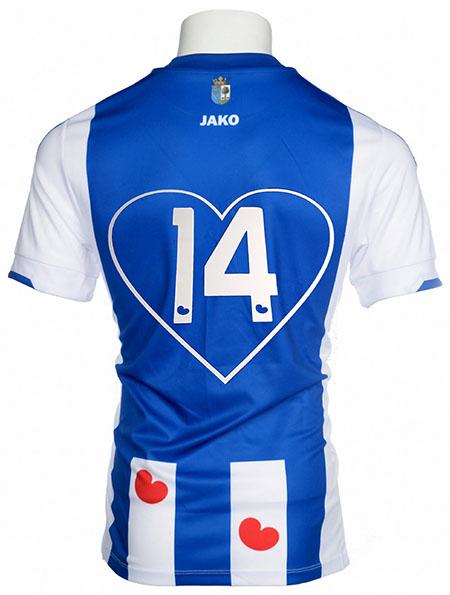 Edición especial de la camiseta del Heerenveen para San Valentín - Odio Eterno Al Fútbol Moderno