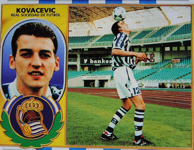 Cromo de Darko Kovacevic - Odio Eterno Al Fútbol Moderno