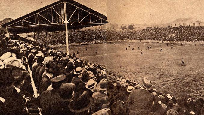 Les Corts durante los años 20 - Odio Eterno Al Fútbol Moderno