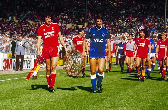 Liverpool vs Everton en la Charity Shield del 16 de agosto de 1986 - Odio Eterno Al Fútbol Moderno