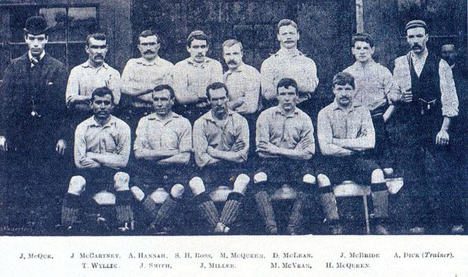 Plantilla del Liverpool FC en 1892 - Odio Eterno Al Fútbol Moderno