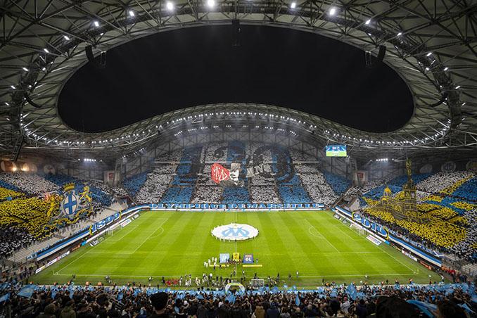 Olympique de Marsella vs Olympique de Lyon disputado en el Stade Vélodrome en 2019 - Odio Eterno Al Fútbol Moderno