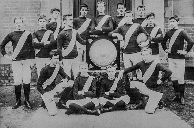 Jugadores del Merchant Taylors' 1889 - Odio Eterno Al Fútbol Moderno