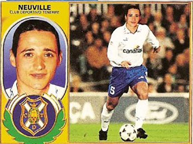 Cromo de Oliver Neuville - Odio Eterno Al Fútbol Moderno